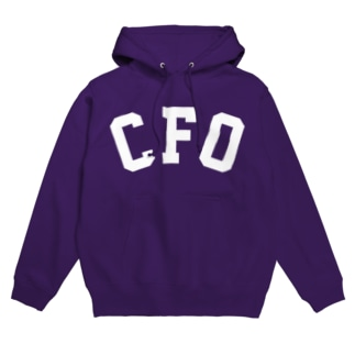 CFO(白) Hoodies