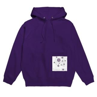 Purple Code オフィシャルロゴ Hoodies