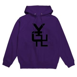 【やんちゃ寺公式】YC卍 Hoodies