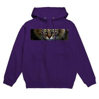 野良猫 Hoodies