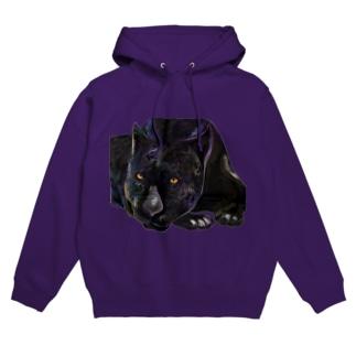 黒豹 Hoodies