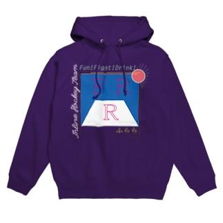 FRR(英語ロゴのみver.) Hoodies