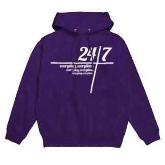 24/7 -twenty-four seven- フーディ