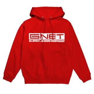G-NET White フーディ