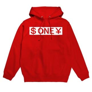 $ONE¥ Hoodies