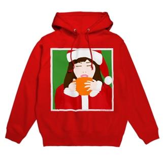 Santa Girl Hoodies