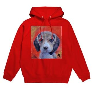 犬 Dog NumberOne Hoodies
