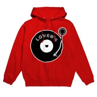 lovers レコード Hoodies