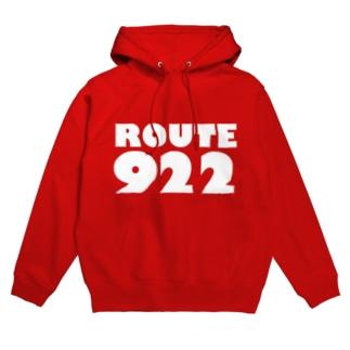 routeロゴ 922 Hoodies