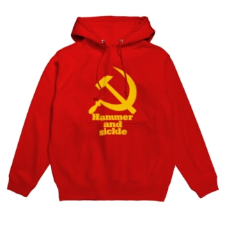 Hammer_and_sickle Hoodies
