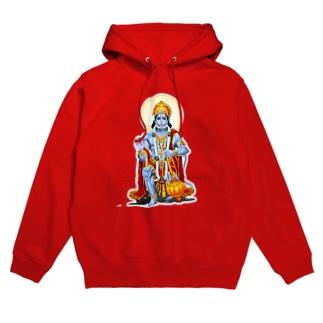 hindu-hanuman Hoodies