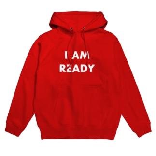 I AM READY Hoodies