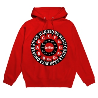 HANZI専用RED Hoodies
