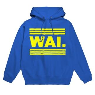 WAIパーカー(イエロゴ) フーディ