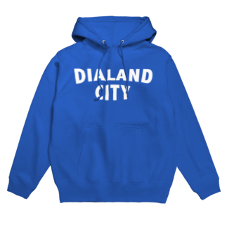 DIALAND LOVERSのDIALAND CITY WHITE Hoodies