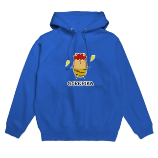 ゴロピカ福豆さん Hoodies