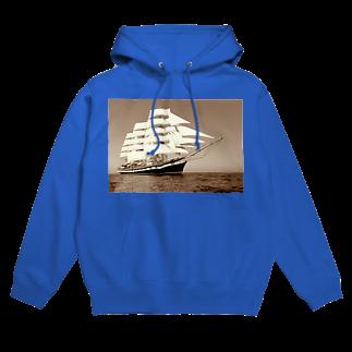 星野敬児(つぼぼ)の帆船セピア~宝を求めて大冒険~ Hoodies