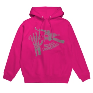Missile Launchers(Gray) Hoodies