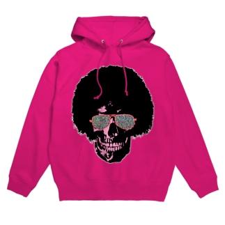Funky Skull!!!! Hoodies