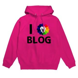 ファンファーレTシャツ(アイラブブログ) Hoodies