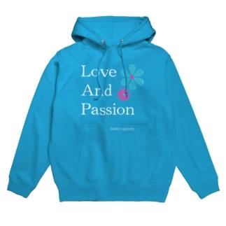 Love and Passion 素敵なライフ フーディ
