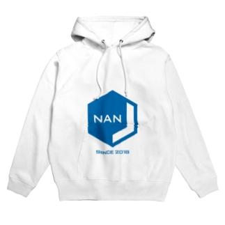 NANJCOIN公式ロゴ入り フーディ