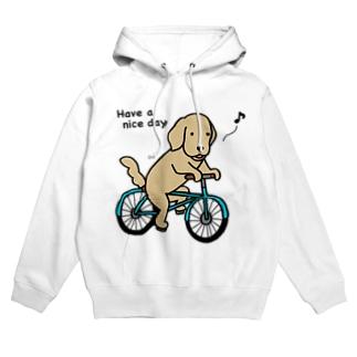 bicycle 2 フーディ