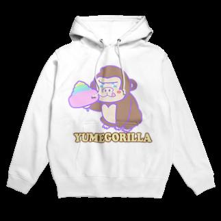 Goma46のYumeGorilla(ゆめごりら)グッズ フーディ