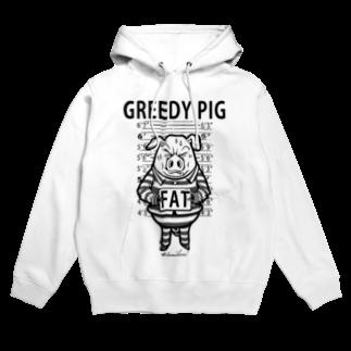 TOMOKUNIのGREEDY PIGフーディ