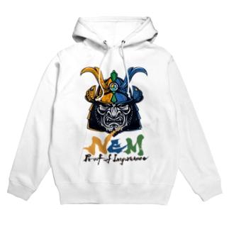 #NEM XEMURAI 3colors フーディ