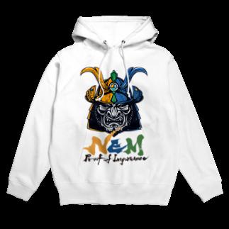 KURINOYA - クリノヤの#NEM XEMURAI 3colorsフーディ