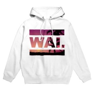WAIパーカー(ハワイアン) フーディ