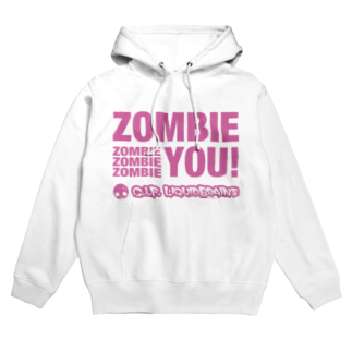 KohsukeのZombie You! (pink print)フーディ