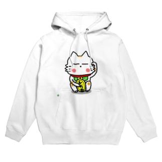 BK あーきちゃん招き猫バージョン フーディ