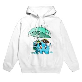 Raining  フーディ