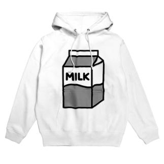 牛乳 フーディ
