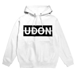 UDON(黒文字) フーディ