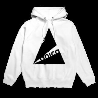 anica storeのanica name logo 2フーディ