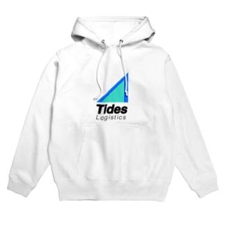 TidesLogistics社公式グッズ フーディ