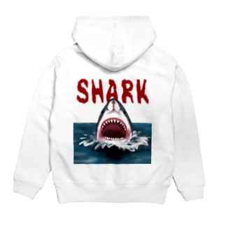 サメ SHARK Hoodies