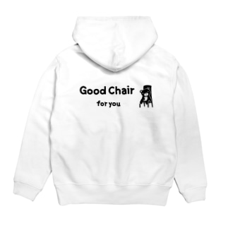 Good chair for you (ライン) Hoodies