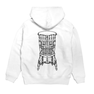Dead Man's Chair-Memento Mori(淡色向け) Hoodies
