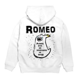SHOP ROMEO のhungry tai Hoodiesの裏面