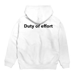 「ju」 pullover hoody Hoodies