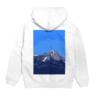 泉ヶ岳 Hoodies