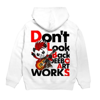 Don't Look Back Hoodies