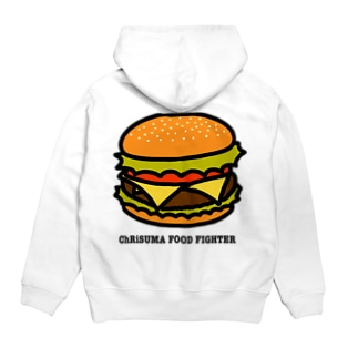 ChRiSUMA FOOD FIGHTER Hoodies
