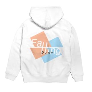 Yomogi-FallingDown Hoodies