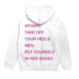 WOMEN&MEN pink print Tシャツ Hoodies