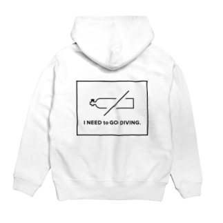 I NEED to GO DIVING. Hoodies